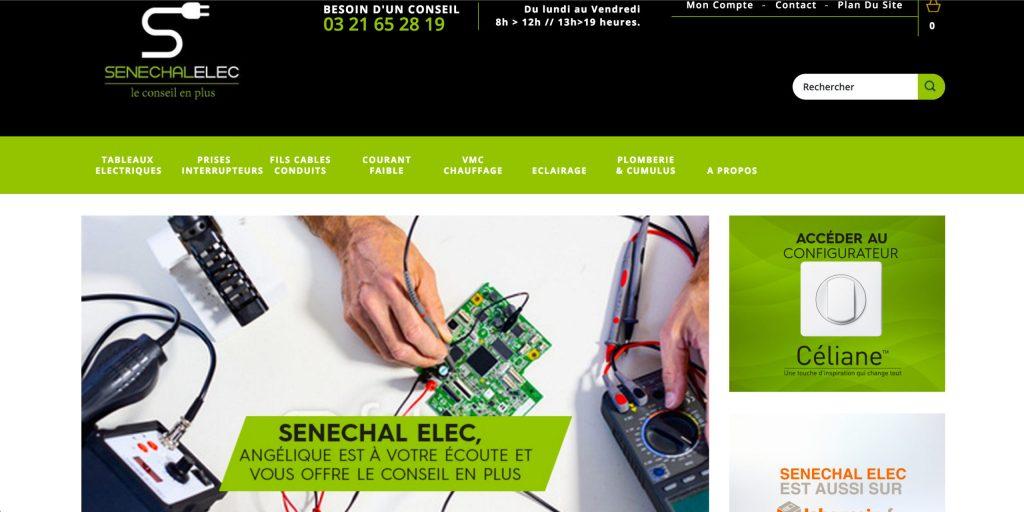 Senechal, site e-commerce