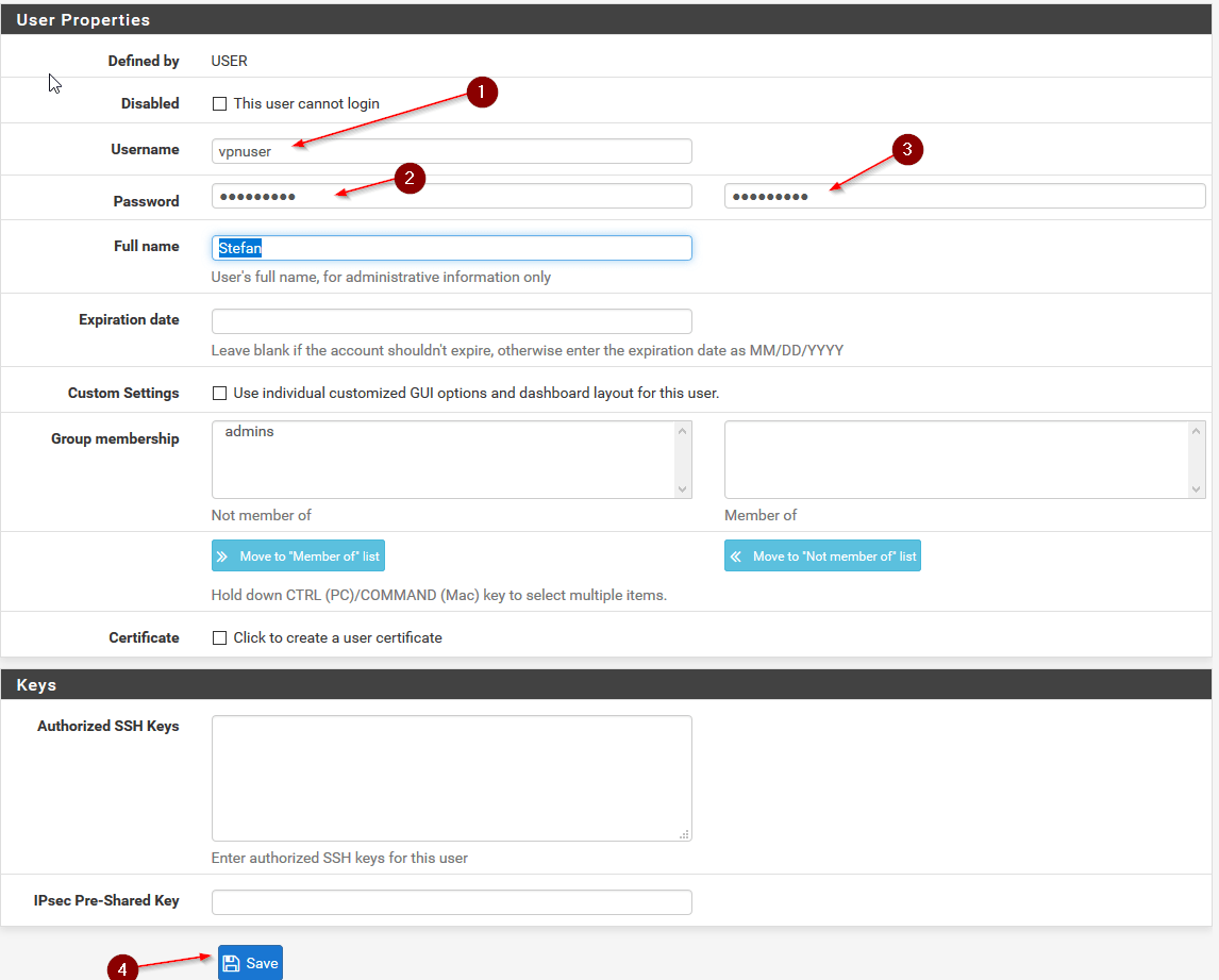 Configure openvpn for pfsense 23 step by step once this is done we need to go back to system certificate manager certificates and create our user certificate for the user we just created xflitez Image collections