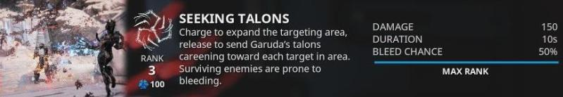seeking talons garuda