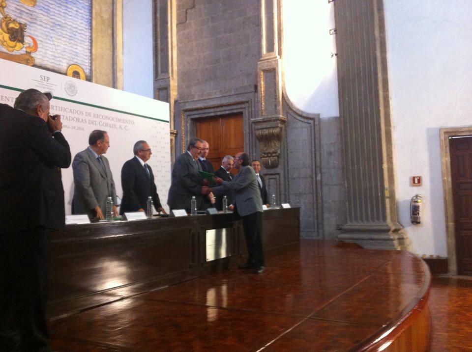 CEPPE Recibe reconocimiento como Organismo Acreditador para el período 2014-2019