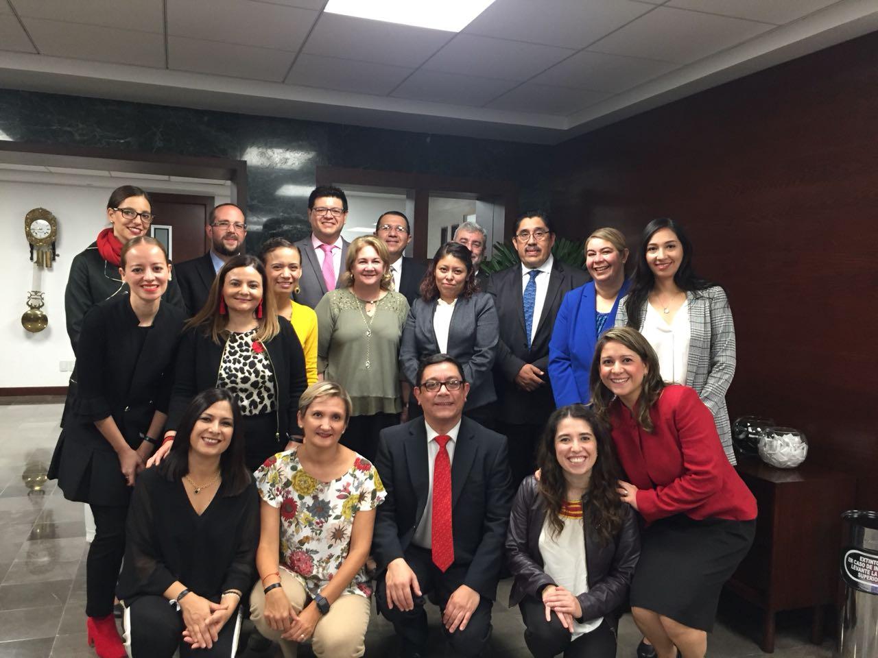 Visita de evaluación al programa de Lic. en Pedagogía de la UP Guadalajara