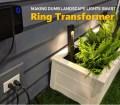 Dumb Old Low Voltage Landscape Lights New Ring Transformer Makes Them Smart Ce Pro