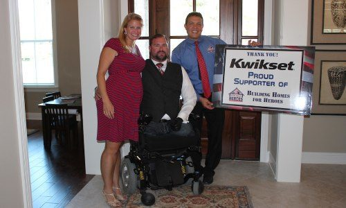 Injured US Air Force Veteran Receives New Smart Home Thanks to BHH, Kwikset