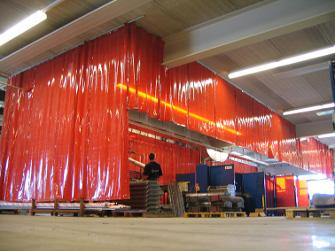 Welding Curtains CEPRO
