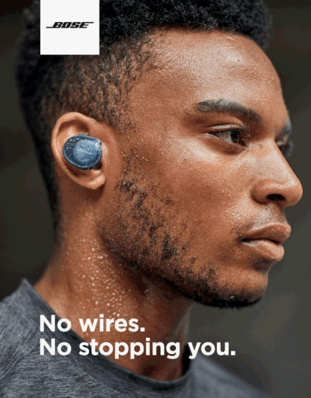 bose wirless headphone
