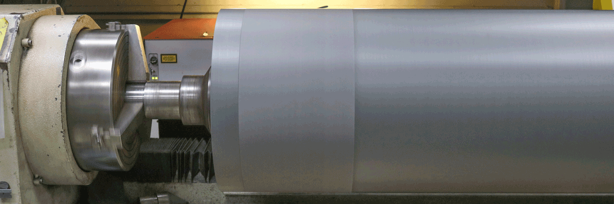 Reconditioning Industrial Rolls