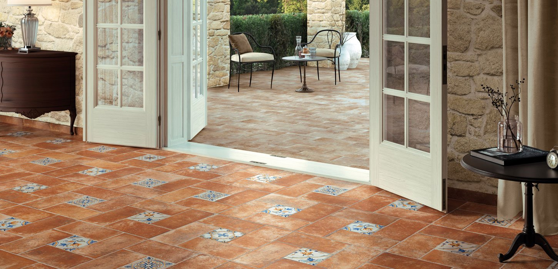 tuscany terracotta floor tiles