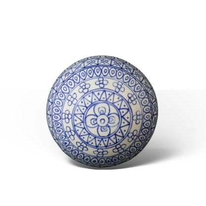 Stratos Blue · Bola de Navidad de cerámica