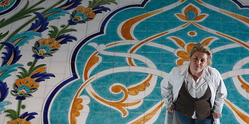 San gin s talavera cer mica art stica y decorativa - Murales de ceramica artistica ...