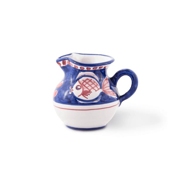 Handmade pottery milk jug| Ceramica Assunta Positano