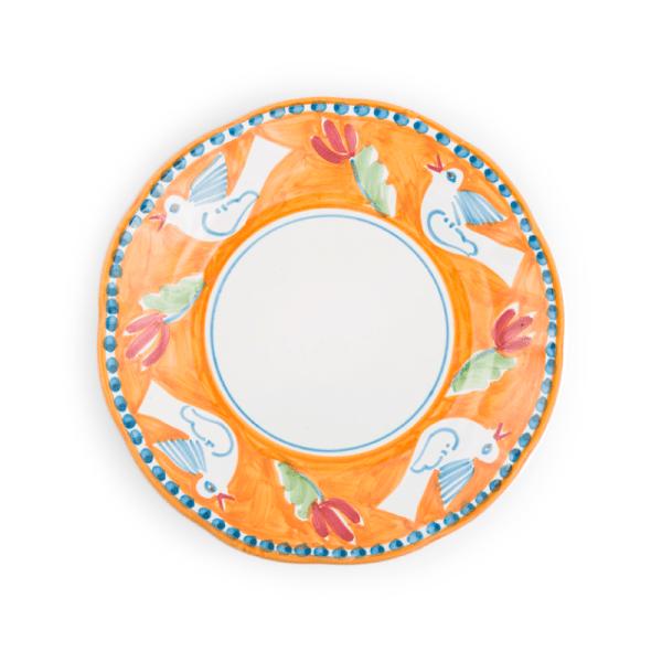 Ceramic dinner plate 10 inch Fruit| Ceramica Assunta Positano
