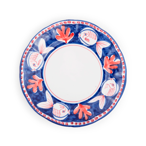 Ceramic Dinner charger plate | Ceramica Assunta Positano