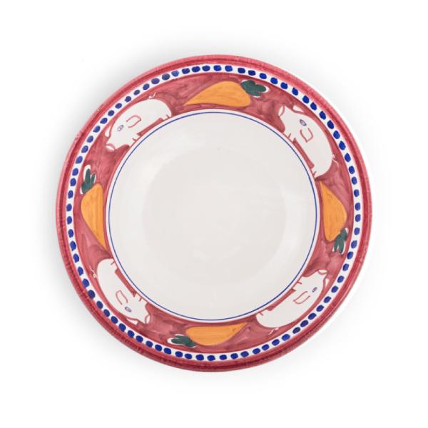 Handmade pottery pasta bowl| Ceramica Assunta Positano