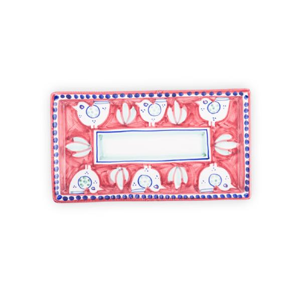 Pottery rectangular tray| Ceramica Assunta Positano