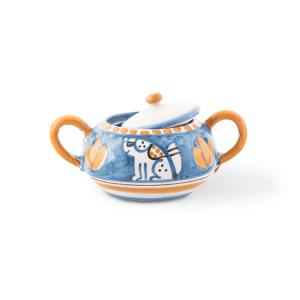Pottery sugar bowl | Ceramica Assunta Positano