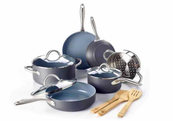 GreenPan Lima ceramic nonstick cookware set