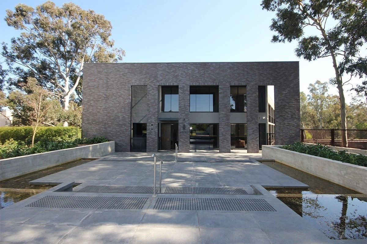 Ceramic Projects Mitchelton Winery Front Elevation