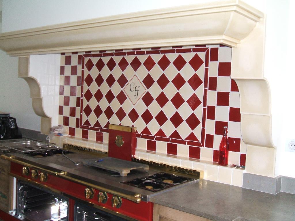 faience et carrelage mural de cuisine