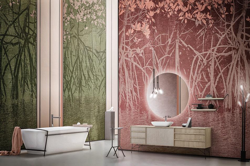 Classico, stile british, stile moderno, contemporaneo, stile industriale, stile shabby. Wallpaper Cerasa