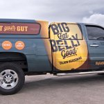 Cerberus - Big Fat Belly Good - Truck Wrap - Collateral