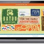 Cerberus - Bayou Adventures - Website Design