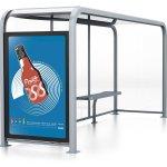 Cerberus - Fest Cola - Bus Shelter Advertisement