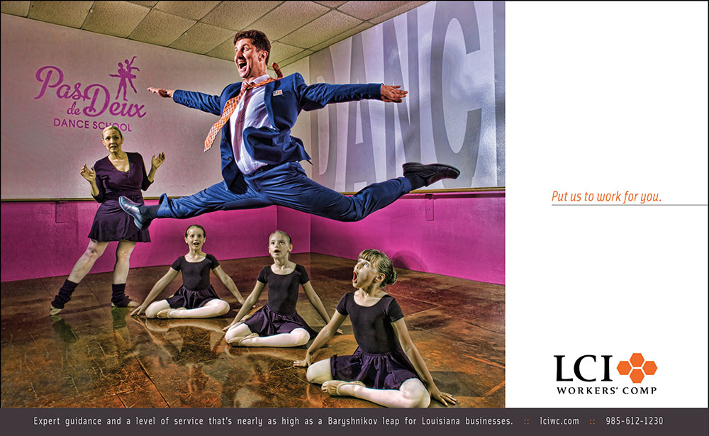 LCI Workers' Comp Advertising Campaign Print Ad