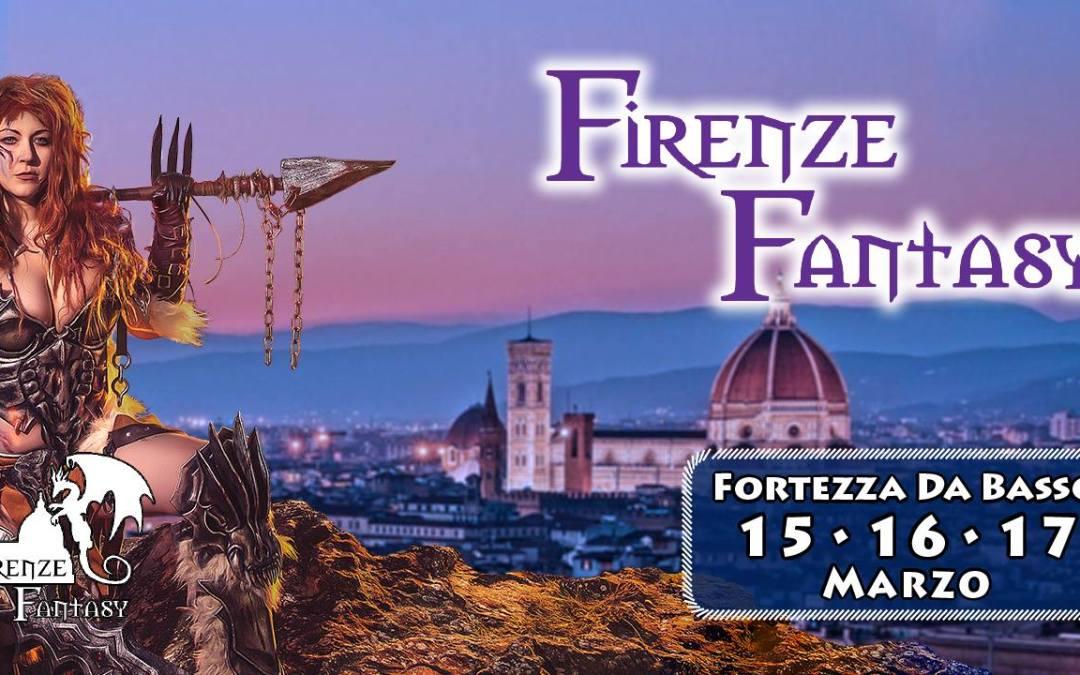 Volantino promozionale del Firenze Fantasy