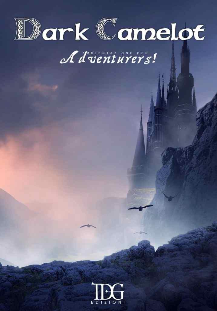 Copertina della nuova ambientazione di Adventurers!