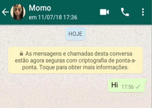 Non chiamate Momo, eh!