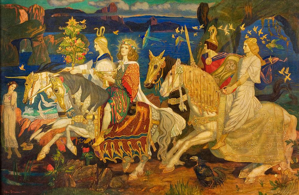 Mitologia irlandese: l'ambientazione de Il libro delle invasioni
