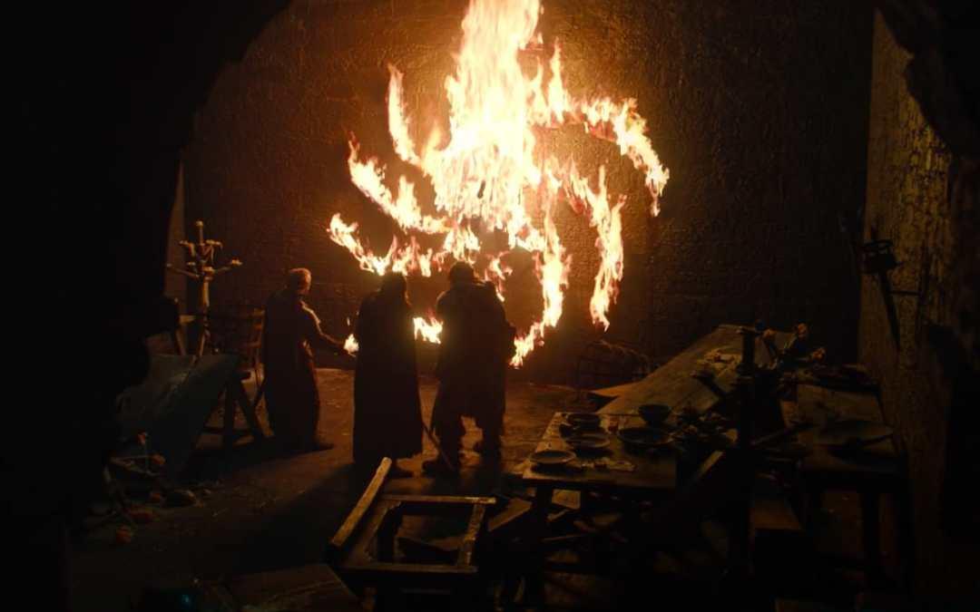 Il sacro simbolo dell'articolo flame