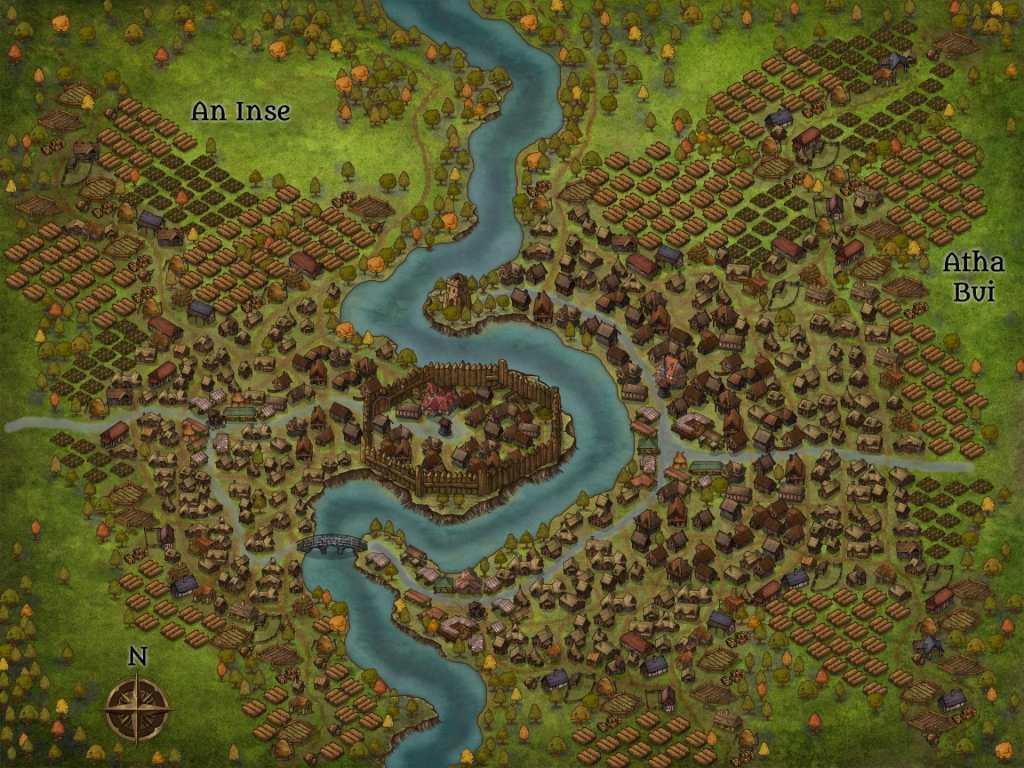 Ed ecco il villaggio finito!