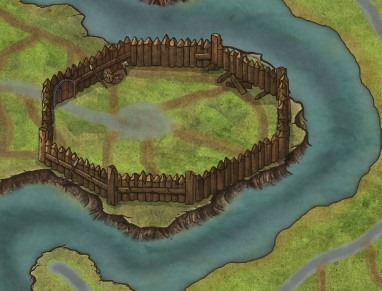 Le mura del villaggio di An Inse