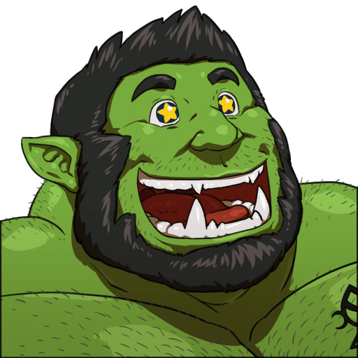 Un Big Gay Orc a caso da Several gay monsters