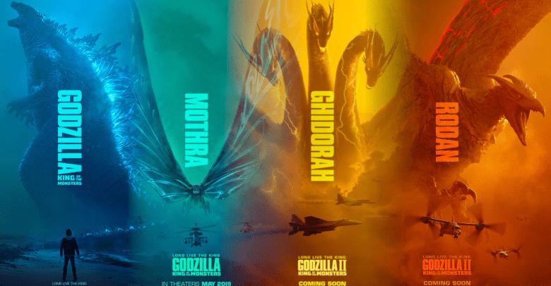 I quattro Kaiju che ci regalano le bbbbotte su Godzilla II