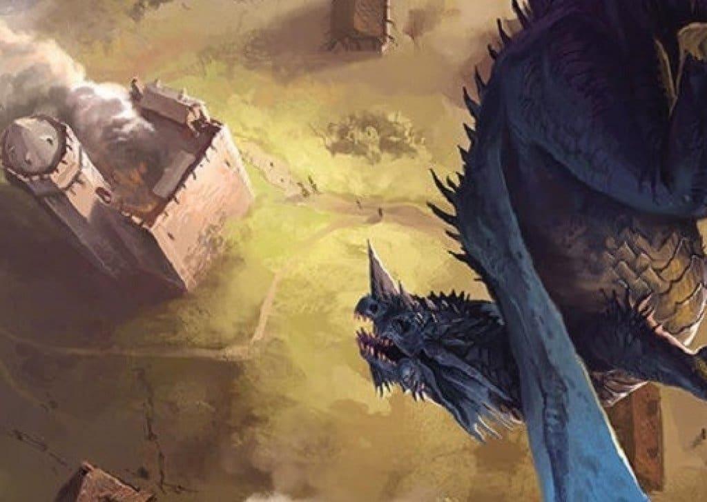 Il primo modulo di Tyranny of Dragons vedrà gli avventurieri affrontare un Drago Blu Adulto. Il TPK è dietro l'angolo.