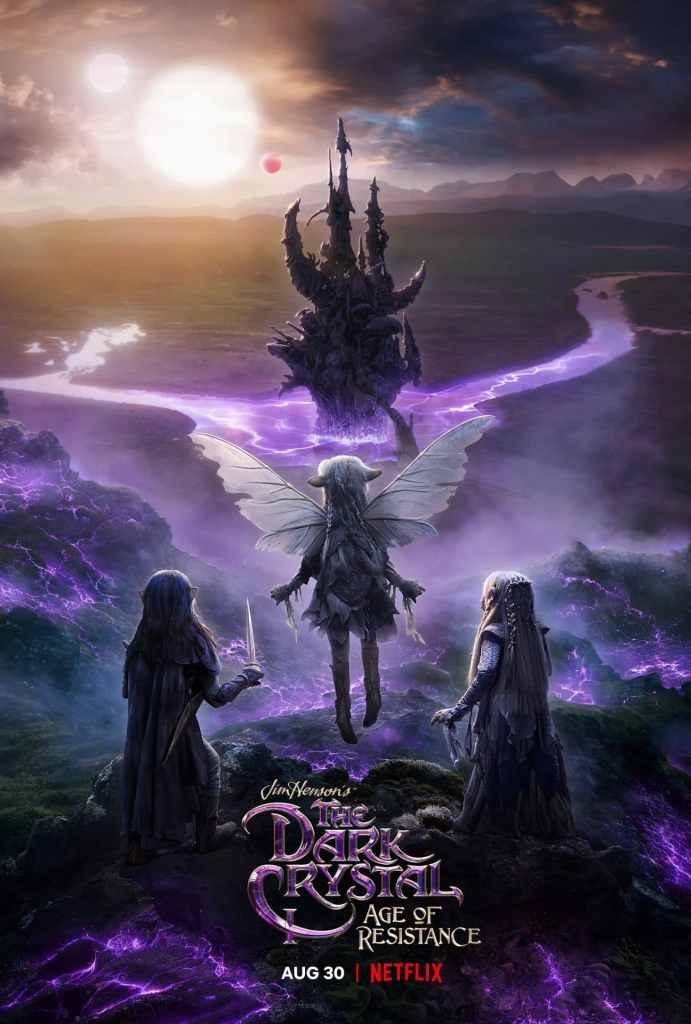 "Promo della serie tv originale Netflix ""The Dark Crystal: Age of Resistance"""