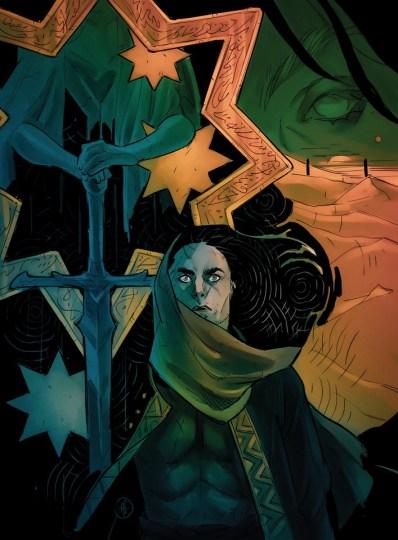 La Visione di Ardashir, disegnata da Alessia