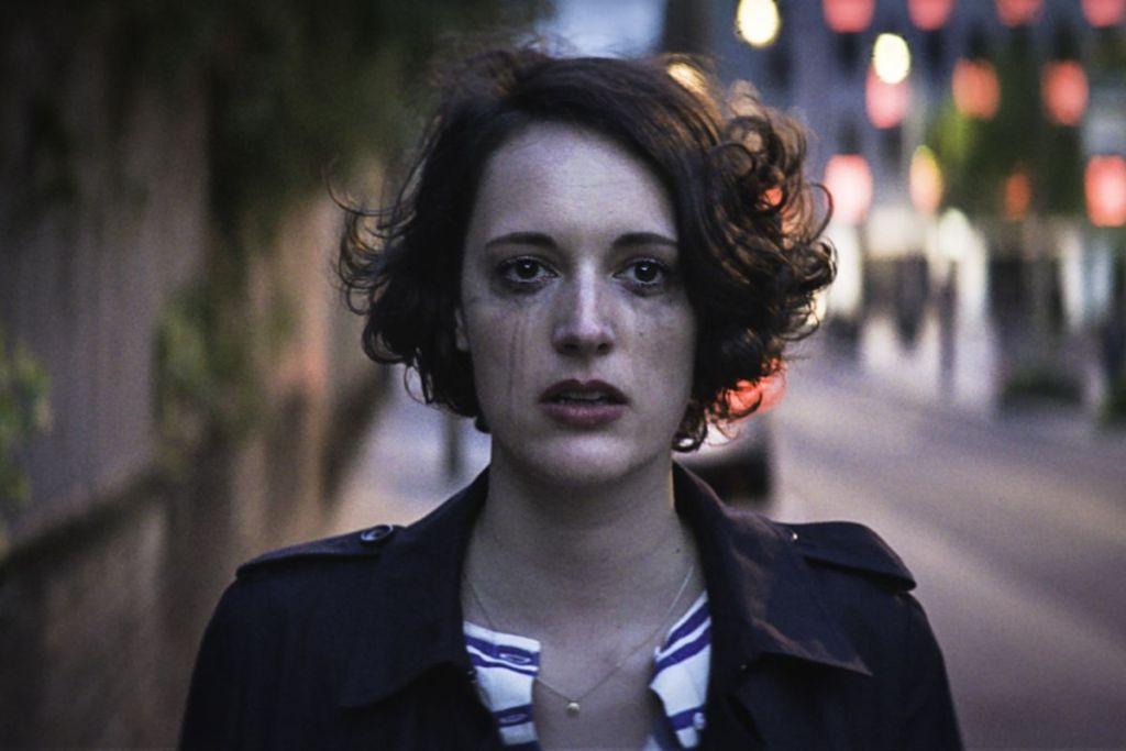 Phoebe Waller-Bridge nei panni della protagonista in Fleabag