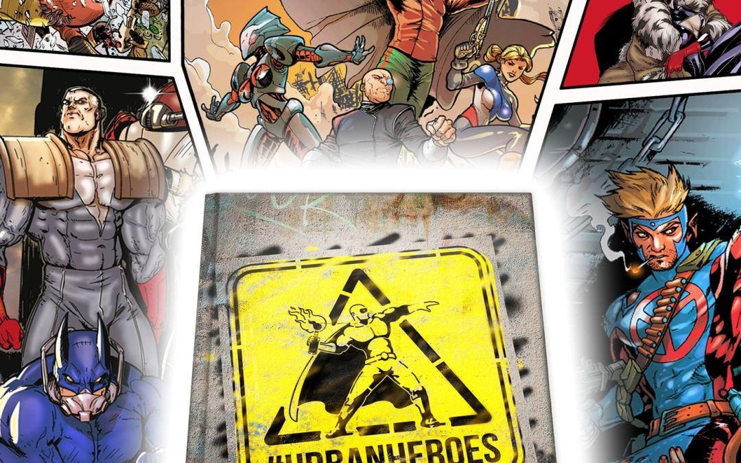 Urban Heroes: Copertina Kickstarter