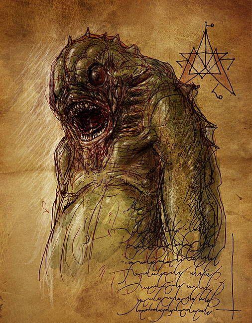 Mostri dei Miti abitatore del profondo