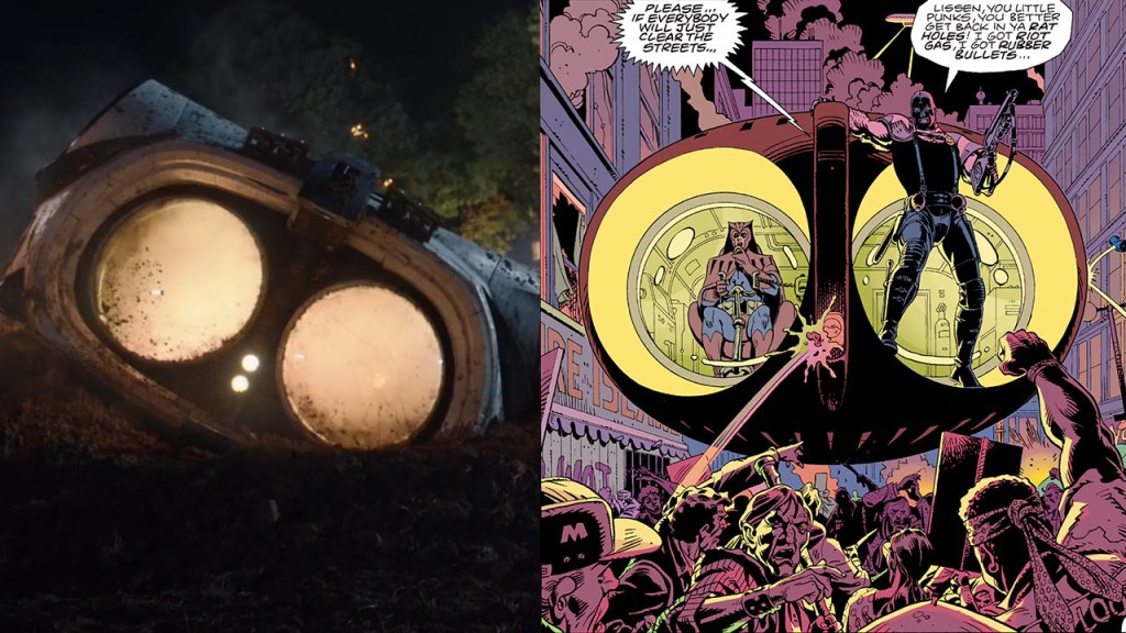 Archie, paragonato alla sua presentazione nei fumetti