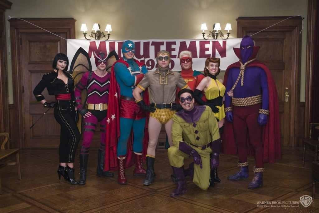 I Minuteman come presentati nel film di Snyder