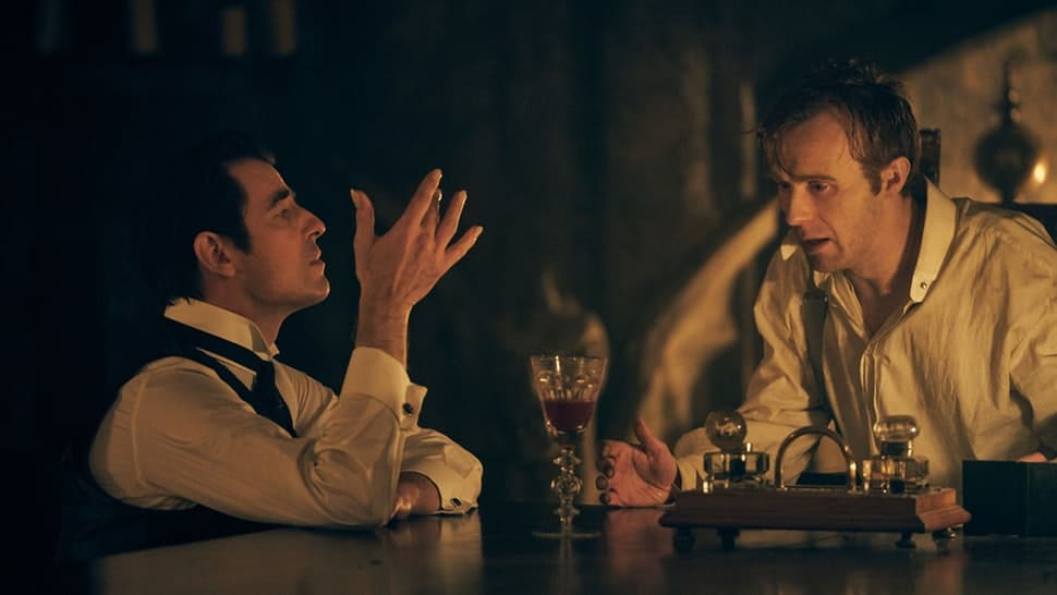 Dracula e Jonathan Harker