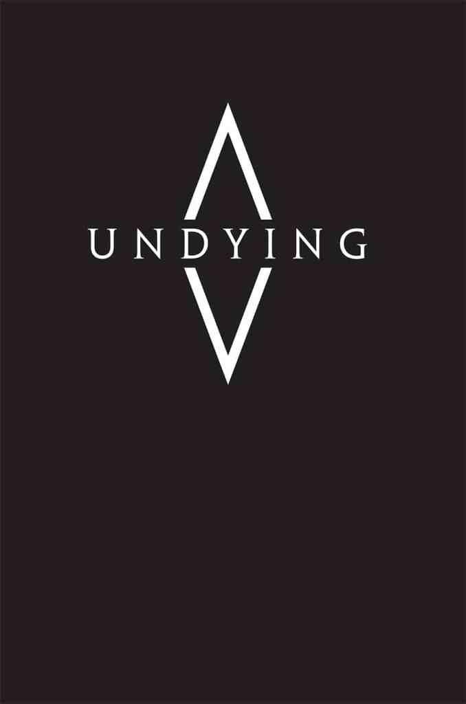La copertina inglese di Undying