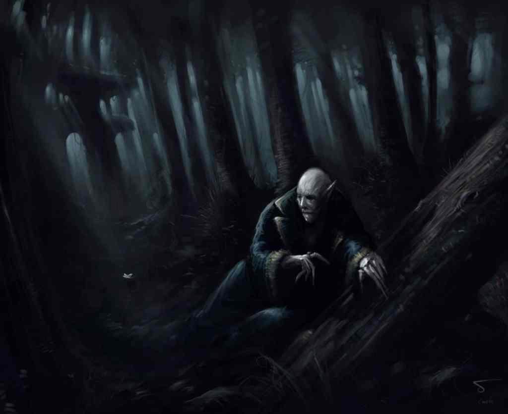 il vampiro nosferatu a caccia