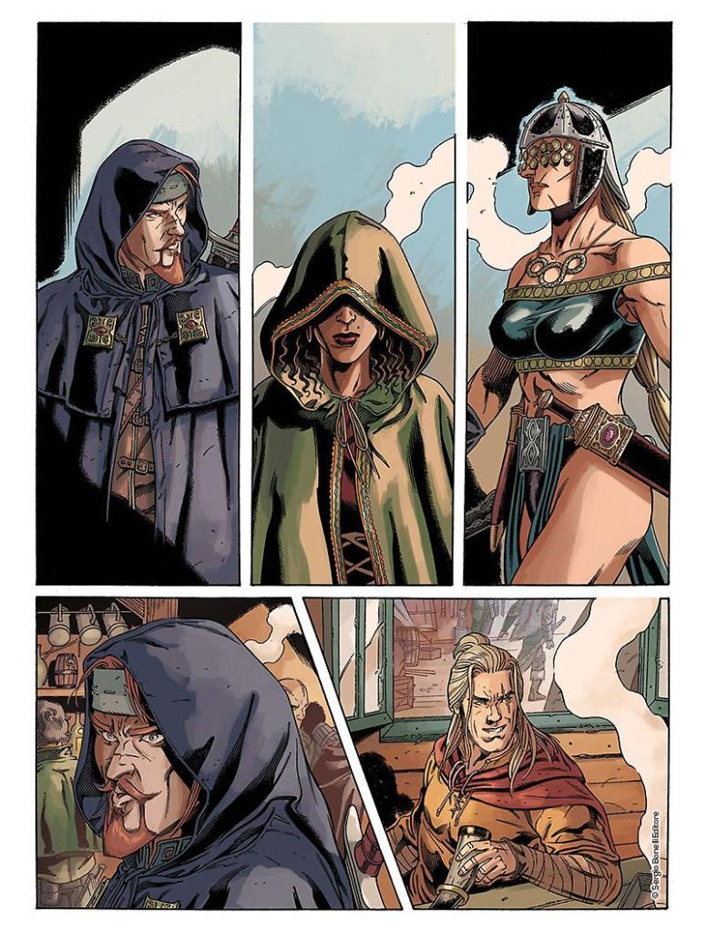 """Dragonero insieme a Majdy, Abayomi e Gaëlig, che ritornano in """"Gli dei dell'arena"""""""