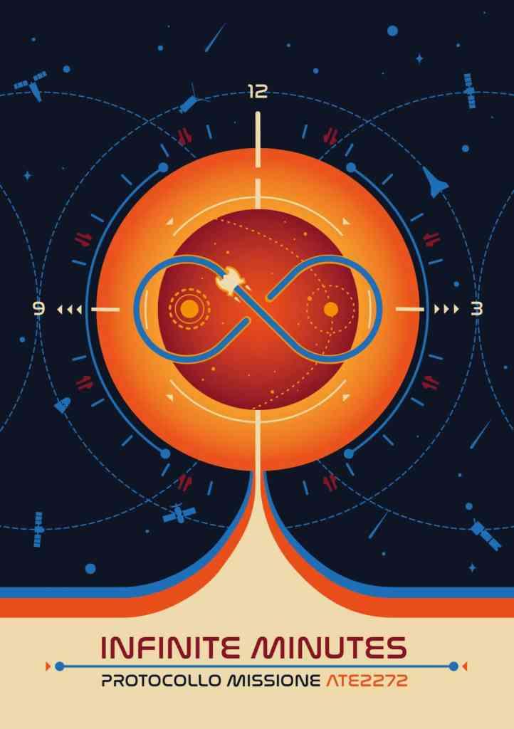 La copertina di Infinite Minutes di Dreamlord Games e NessunDove