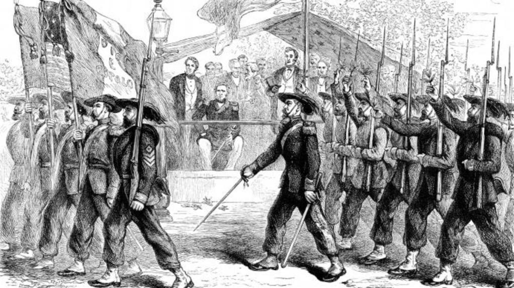 Nel mondo di Black Hills Garibaldi guidò truppe dell'Unione